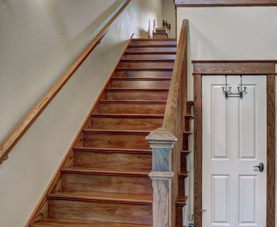 home stairs view